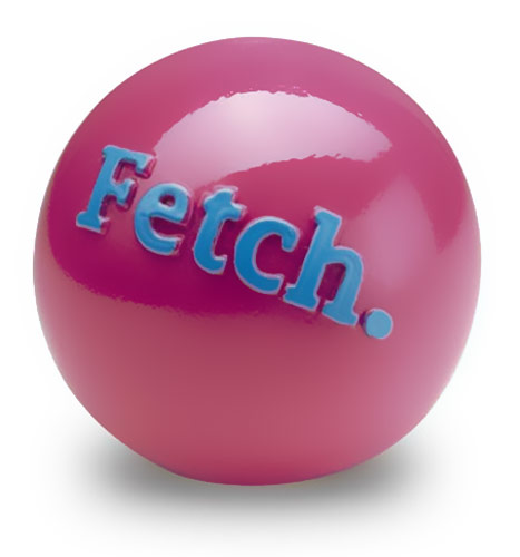 Orbee Tuff FETCH Ball - PINK