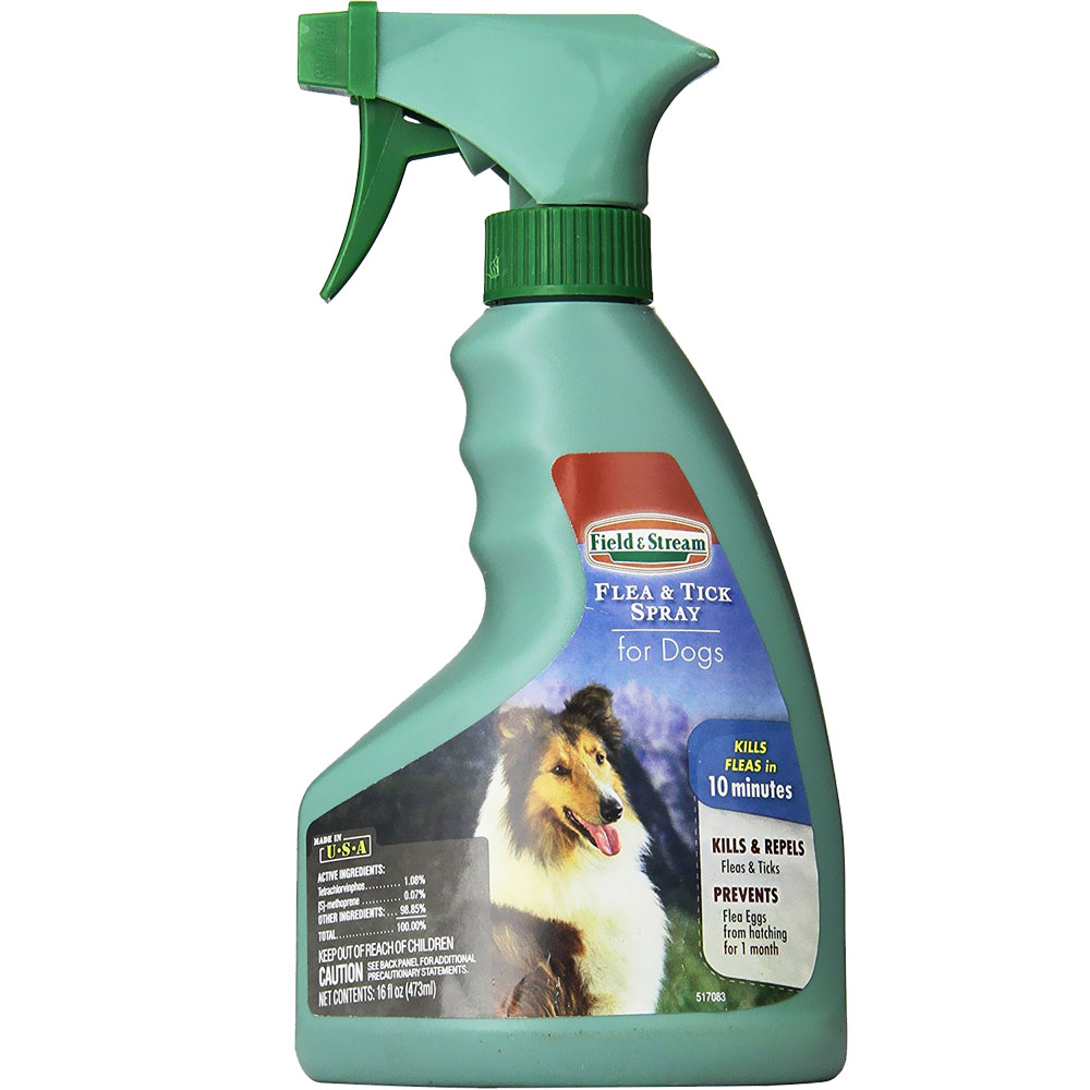 Field & Stream Flea & Tick Spray for Dogs (16 oz)