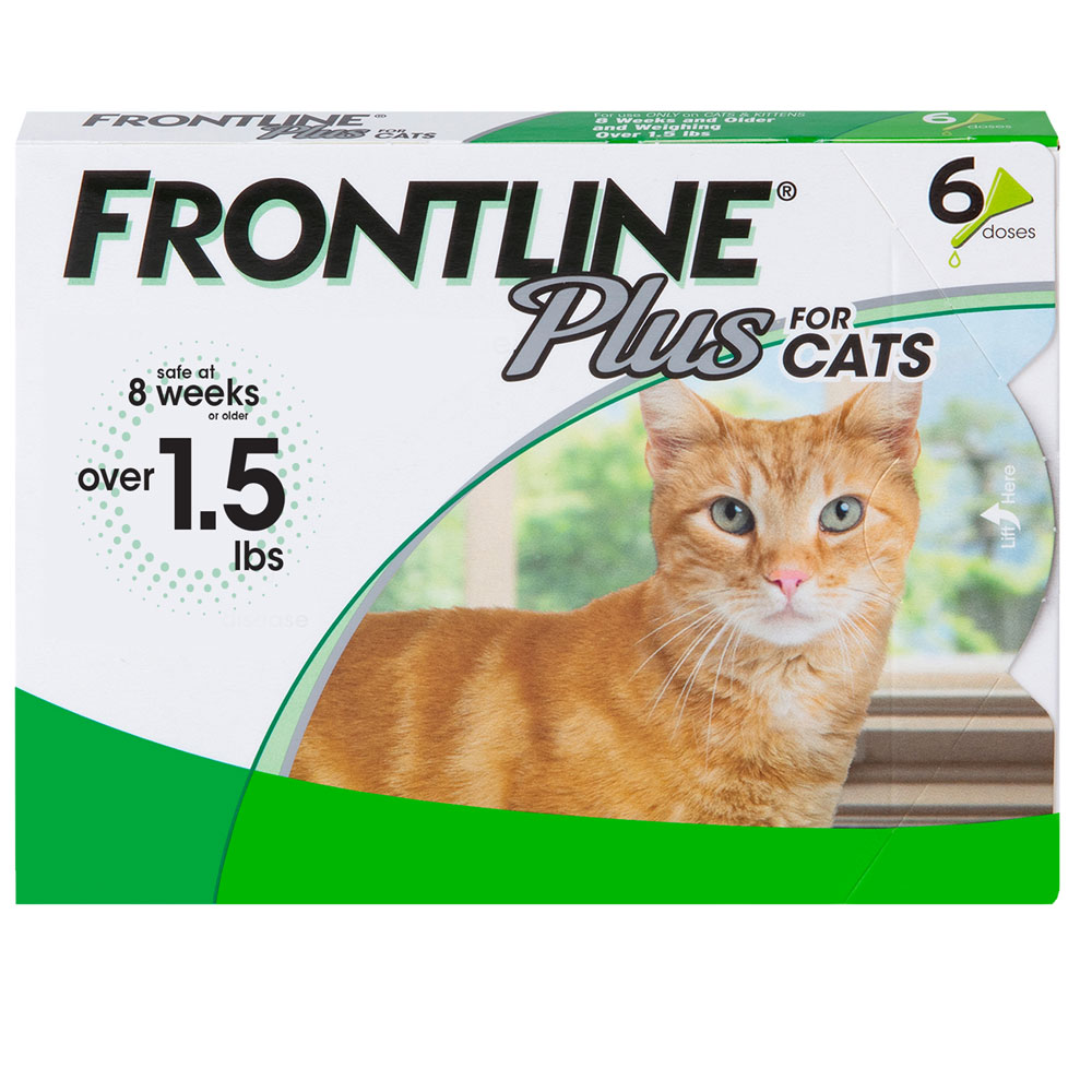 Frontline PLUS for Cats - 6 MONTH