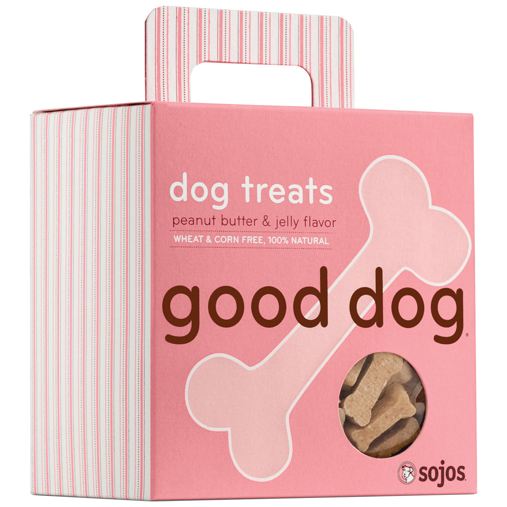 Good Dog: Dog Treats - Peanut Butter &amp; Jelly (8 oz)