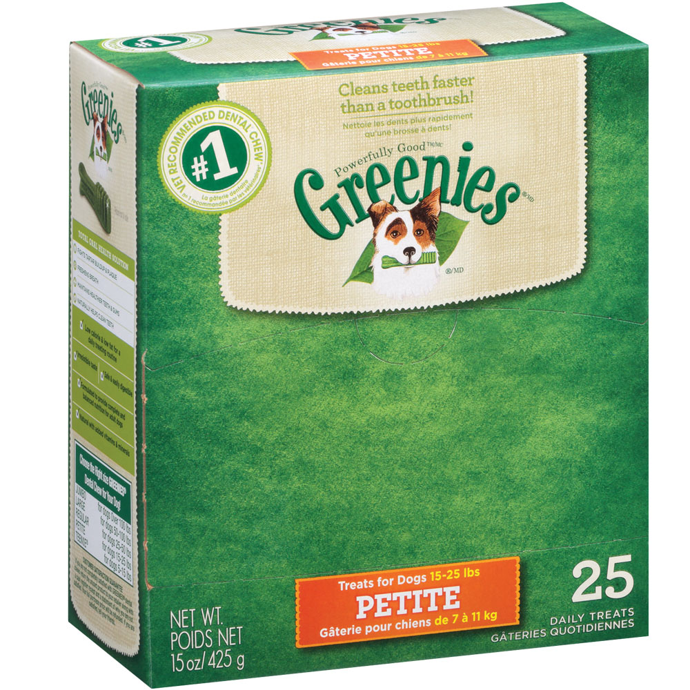 Greenies - BOX PETITE (75 Bones)
