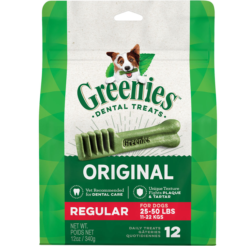 Greenies - REGULAR 12 BONES