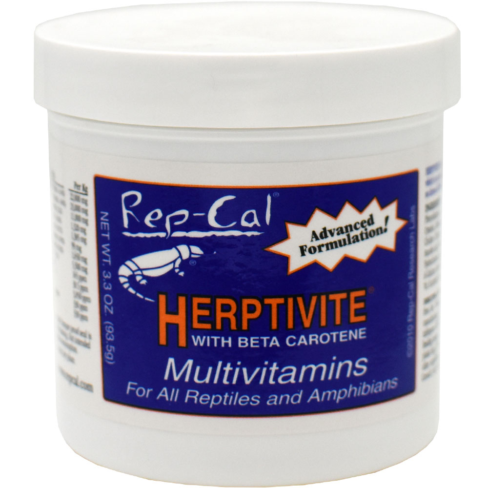 HERPTIVITE Multivitamin for reptiles and amphibians (3.2 oz)