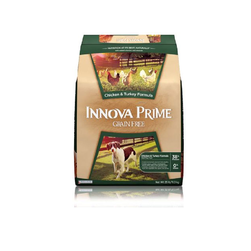 Innova Prime Chicken &amp; Turkey Dry Dog Food (25 lb)