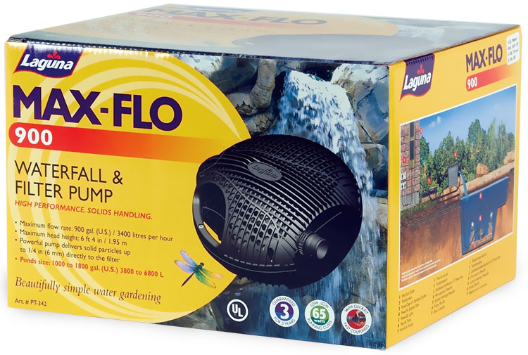 Laguna MaxFlo 900 Waterfall & Filter Pump