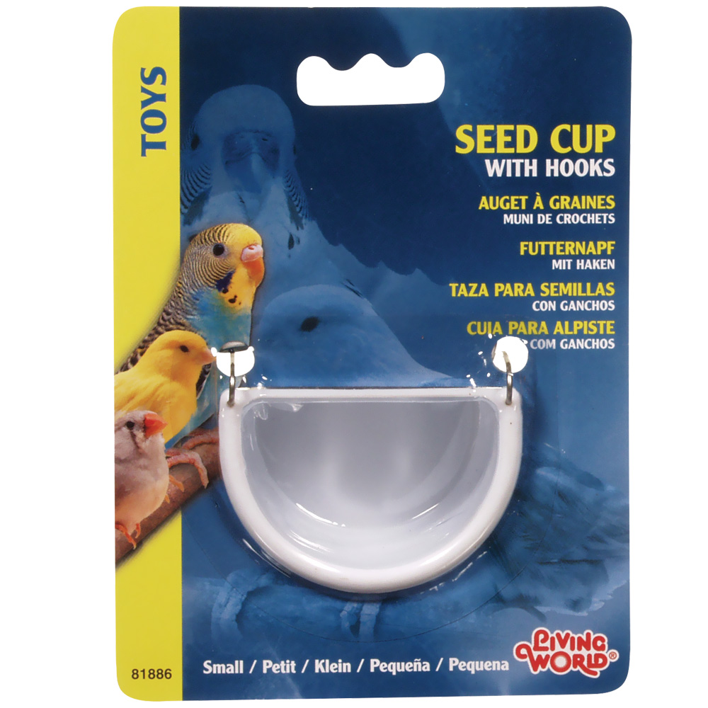 Living World Seed Cup with Hook - Small