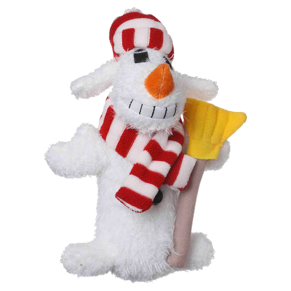 6&quot; Snowman Loofa - White