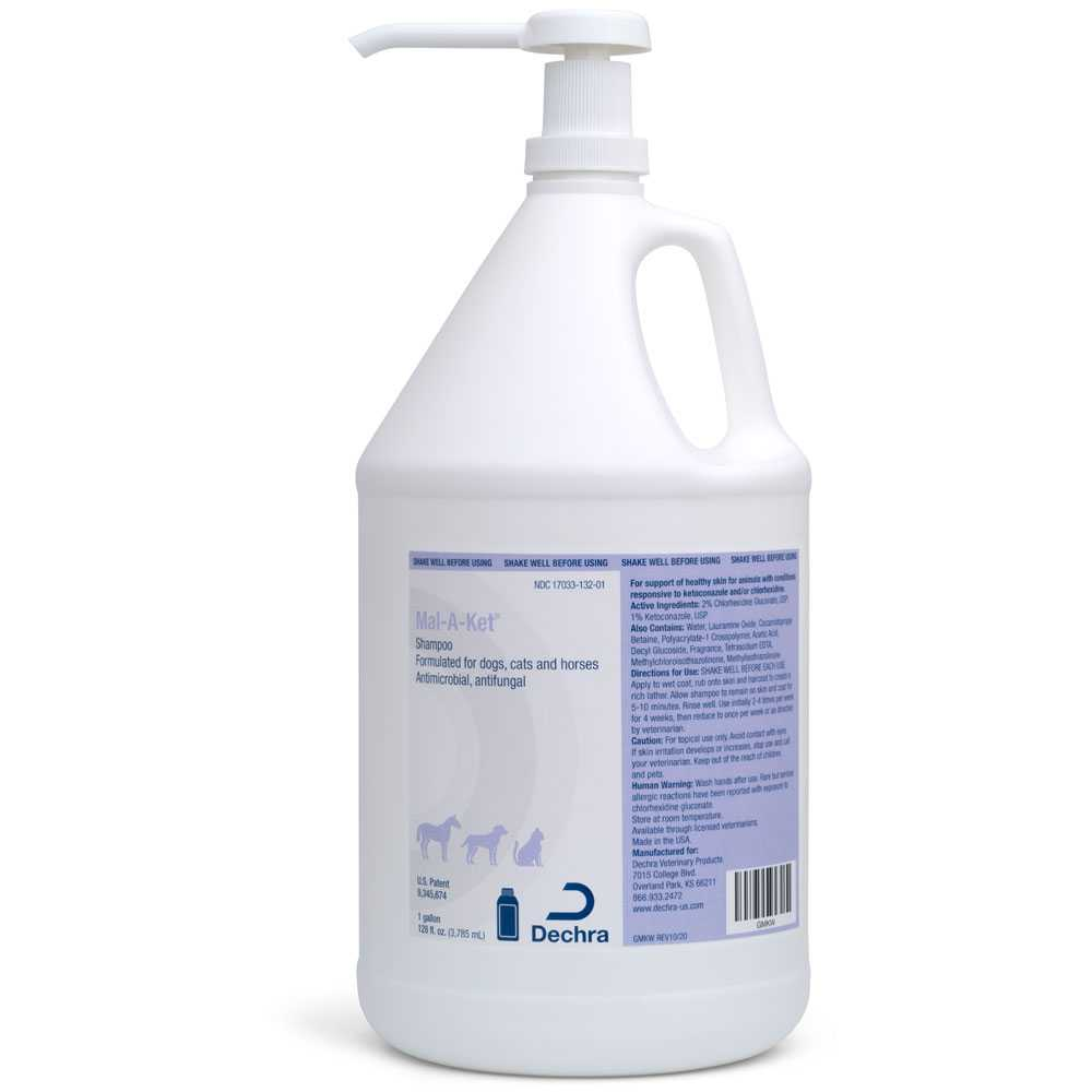 Mal-A-Ket Shampoo (1 Gallon)
