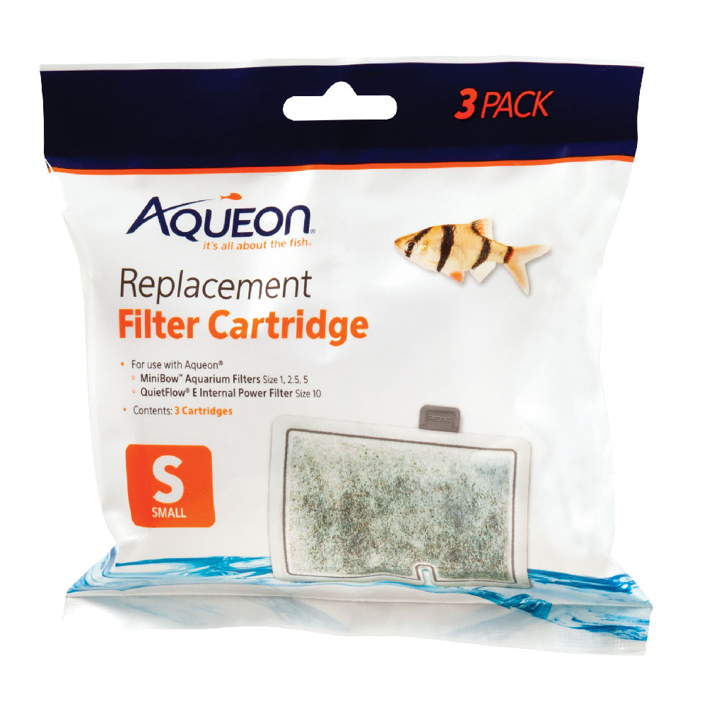 Aqueon Mini Bow Replacement Filter Cartridges - Small (3 pk)
