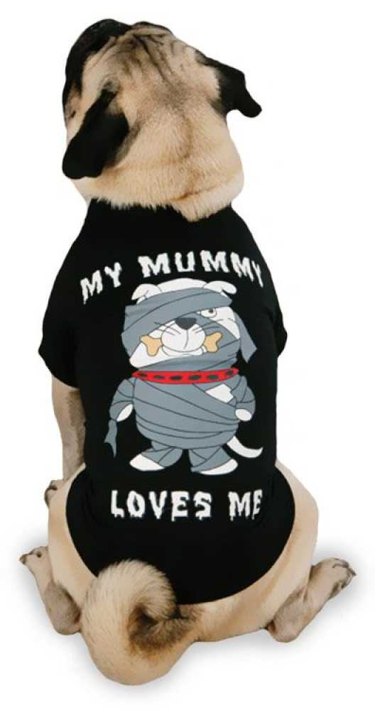 Casual Canine My Mummy Loves Me Tee - XSmall
