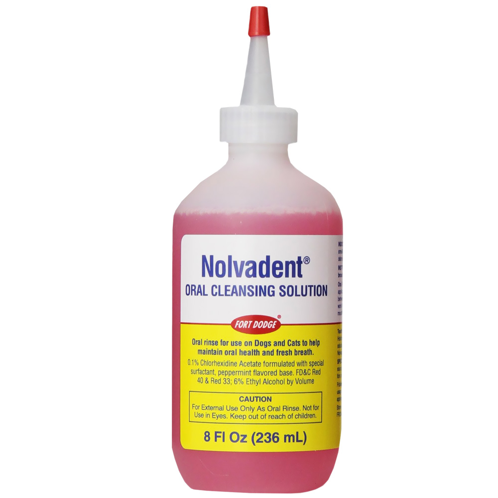 Nolvadent Oral Cleansing Solution (8 oz)