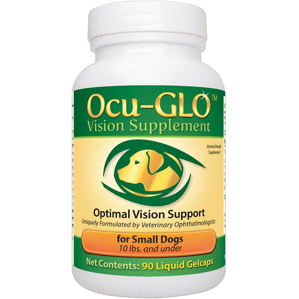 Ocu-GLO Rx for SMALL Dogs (90 Gelcaps)