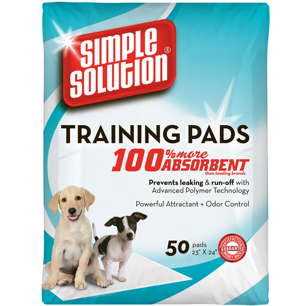 Simple Solution Training Pads (50 Pack)