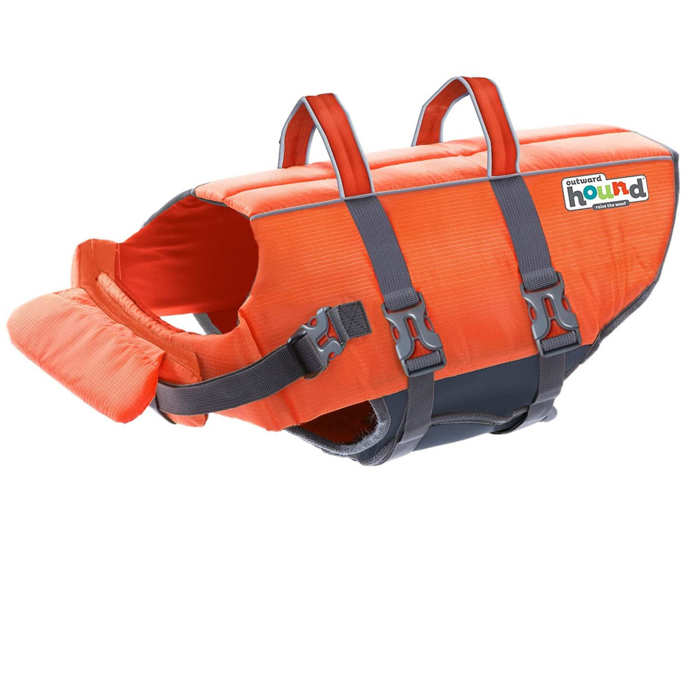Outward Hound PupSaver Ripstop Life Jacket - Orange (XLarge)