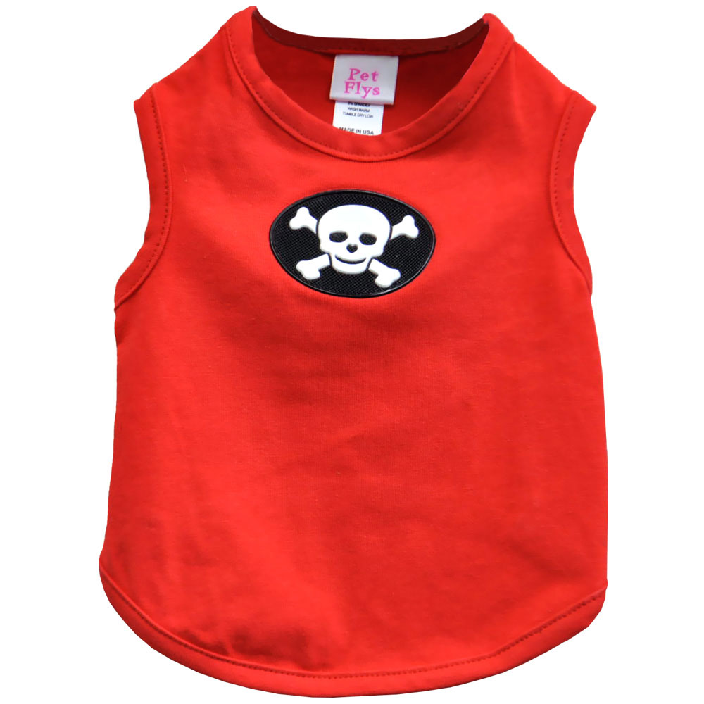 PET FLYS Happy Pirate Skull TANK TOP