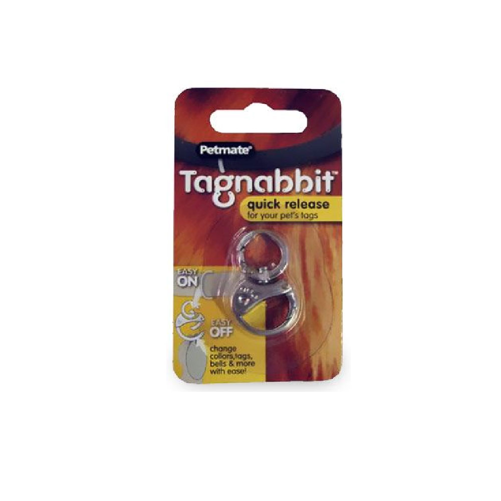 Petmate Tagnabbit Quick Release Tag Ring