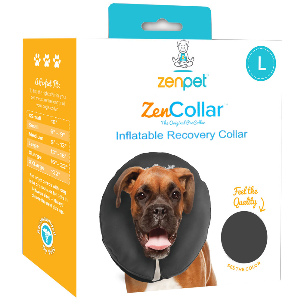 ZenPet Comfortable Recovery ProCollar - Large