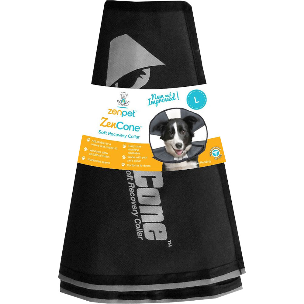 ZenPet ProCone Soft Recovery Collar - Large