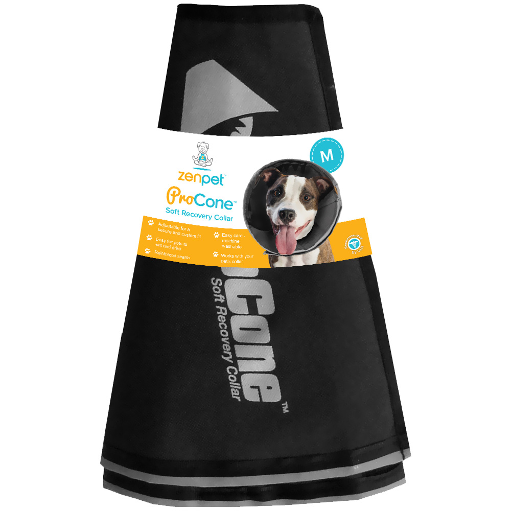 ZenPet ProCone Soft Recovery Collar - Medium