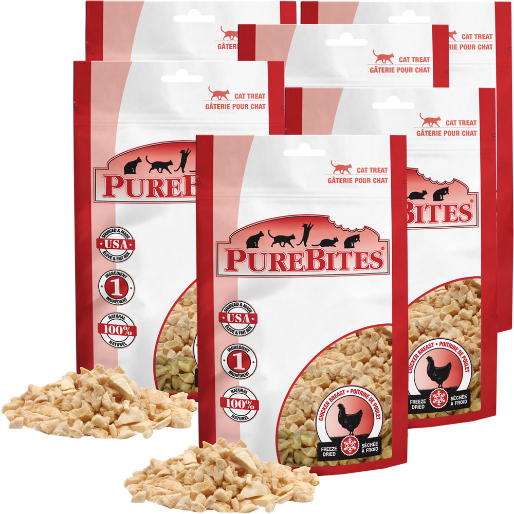Purebites Chicken Breast Cat Treat - 6 PACK (3.60 oz)