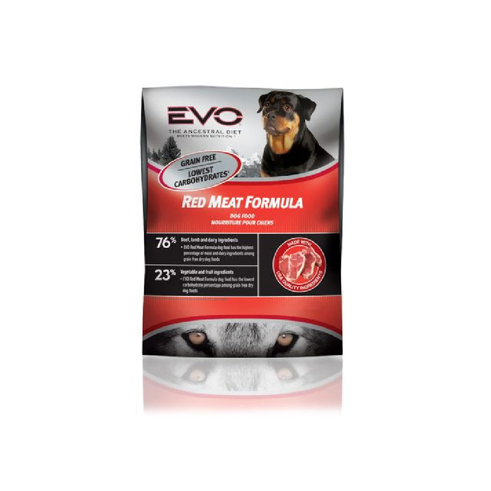 EVO Red Meat Dry Dog Food (28.6 lb)
