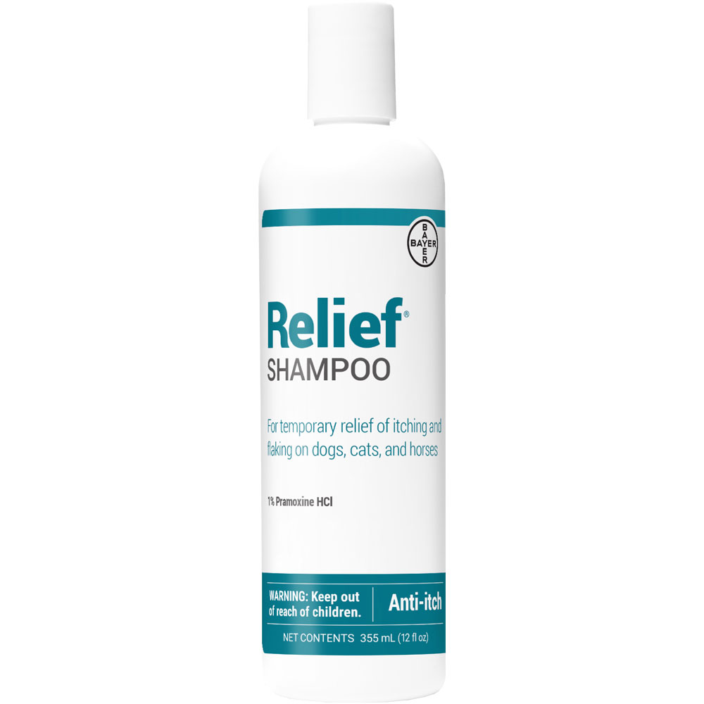 Relief SHAMPOO (12 oz) by DVM Pharmaceuticals