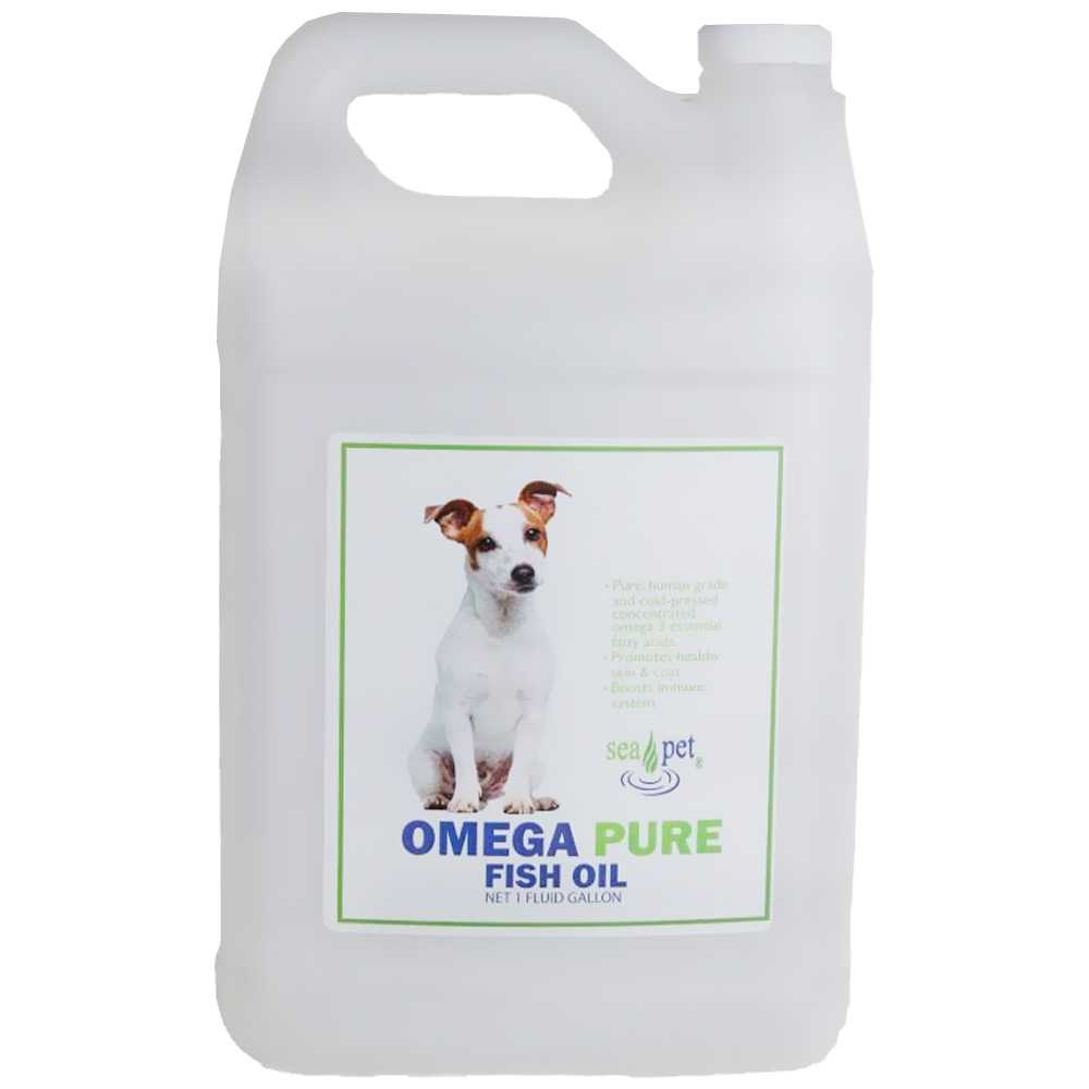 Sea Pet Omega-3 Fish Oil (1 Gal)