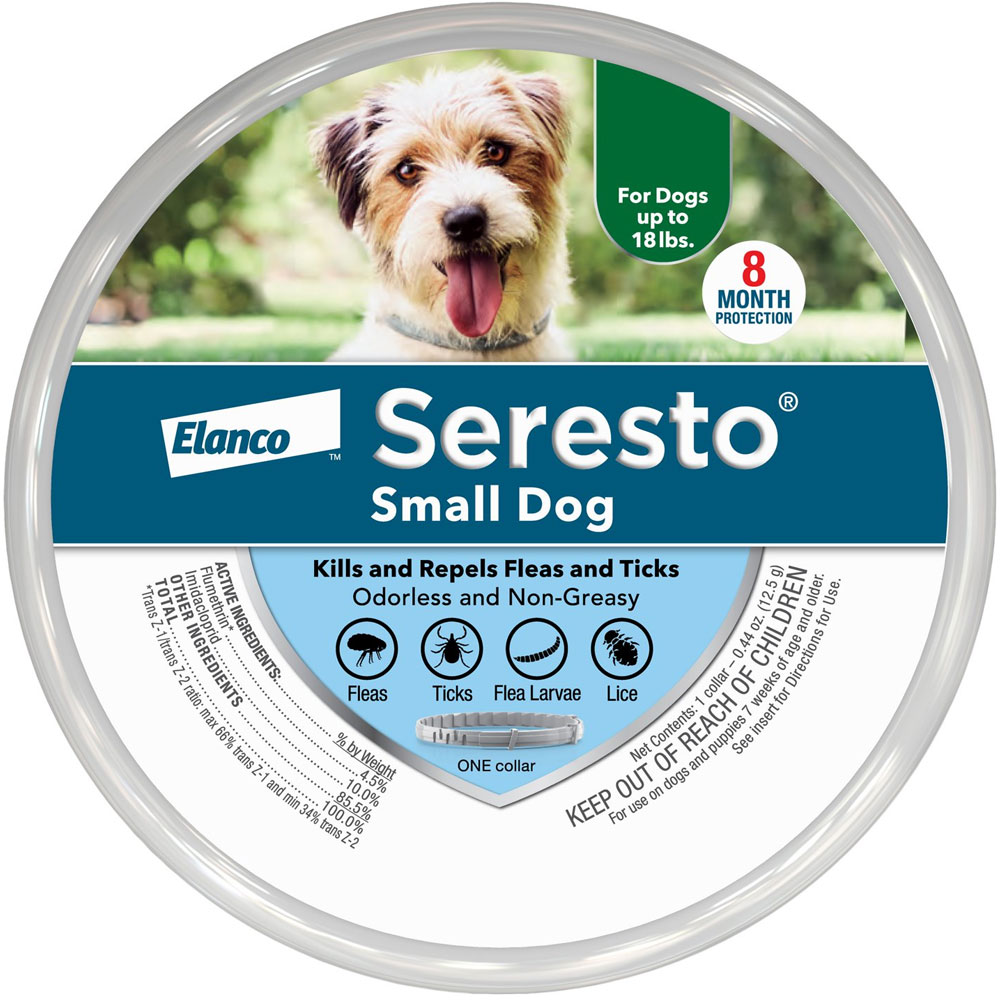 Seresto Flea &amp; Tick Collar for Small Dogs
