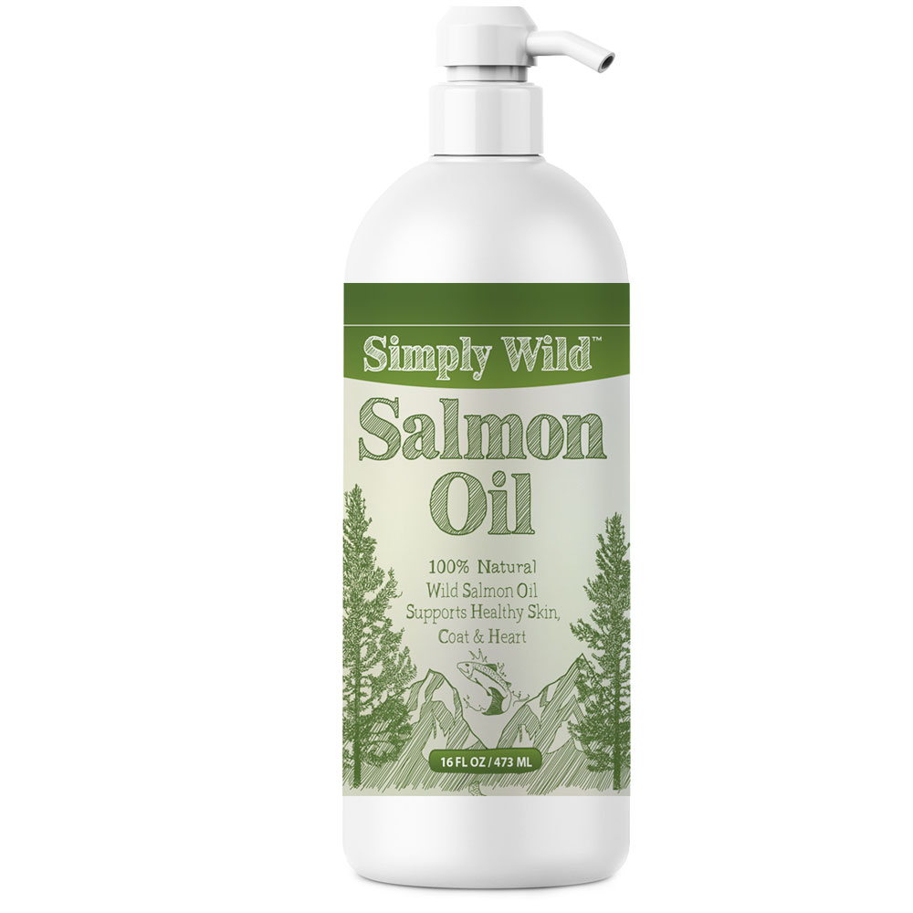 Simply Wild Salmon Oil (17 fl oz)
