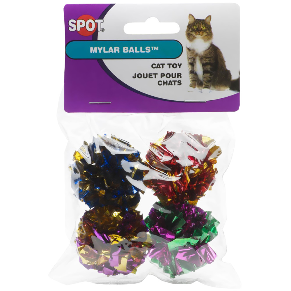 Spot Mylar Balls (4 pack)