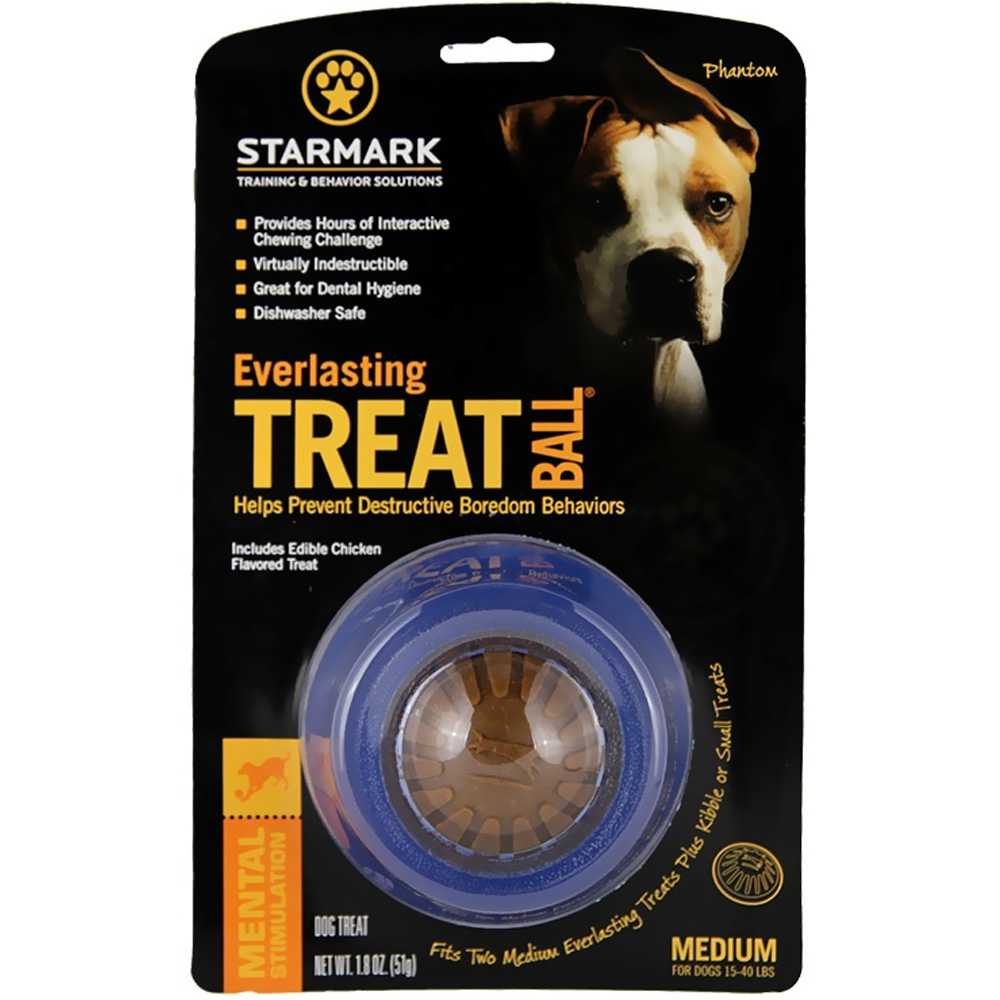 Triple Crown Everlasting Treat Ball - MEDIUM (3.75&quot; diameter)