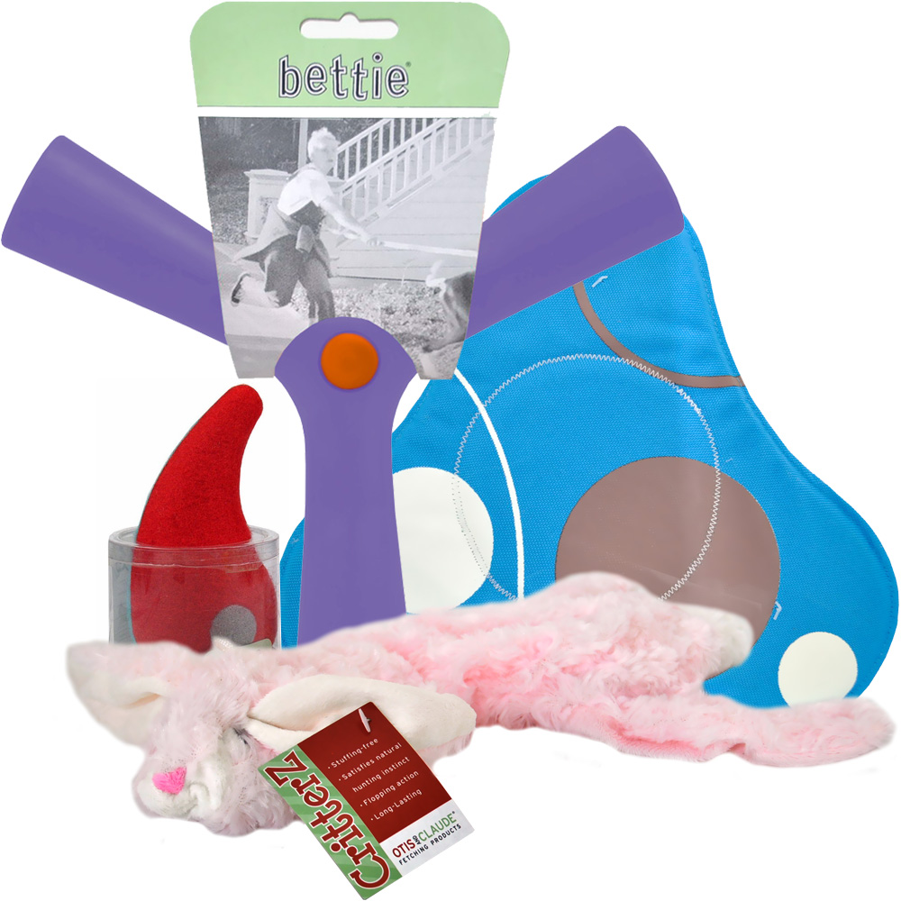 Otis &amp; Claude Dog Toy Gift Set