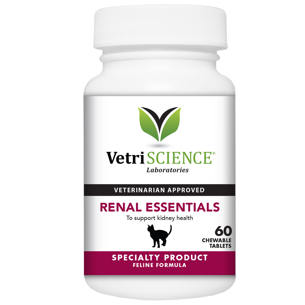 Vetri-Science Renal Essentials For Cats FISH FLAVOR (60 Tabs)