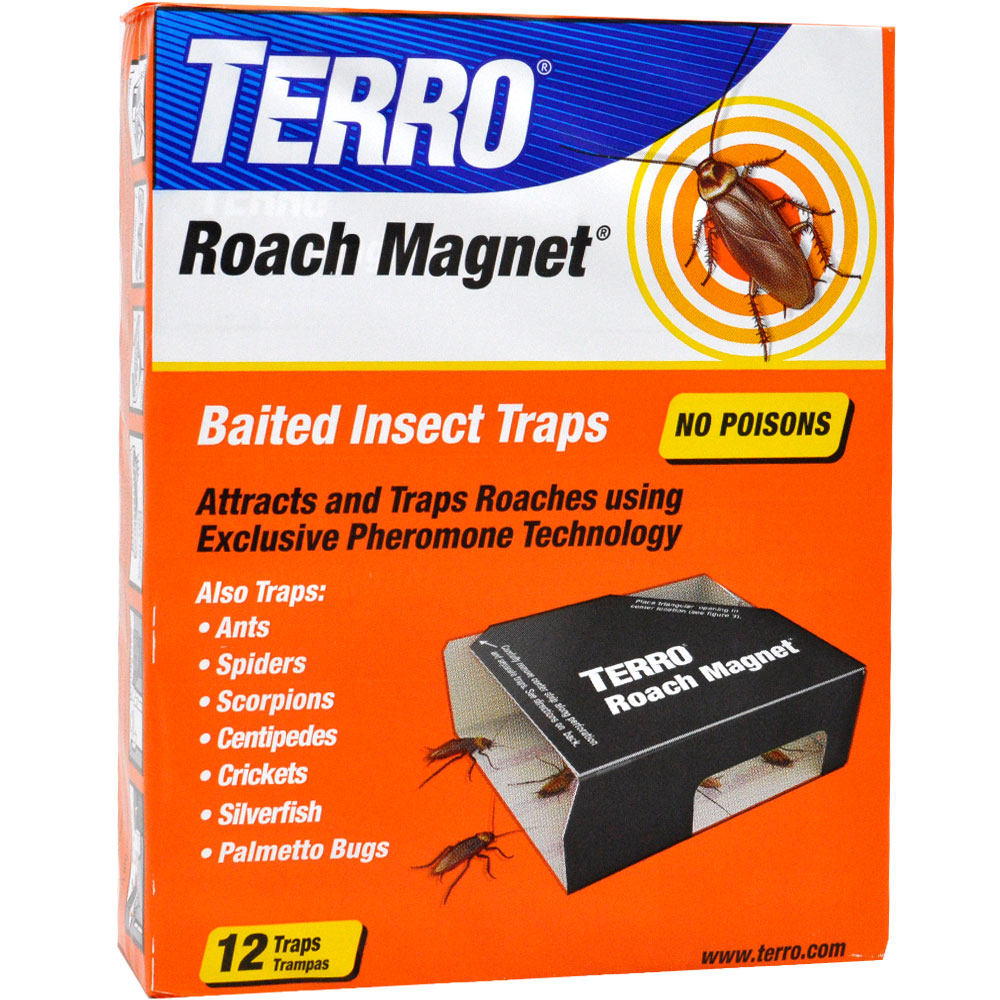 Victor Poison-Free Insect Magnet Traps (12 pack)