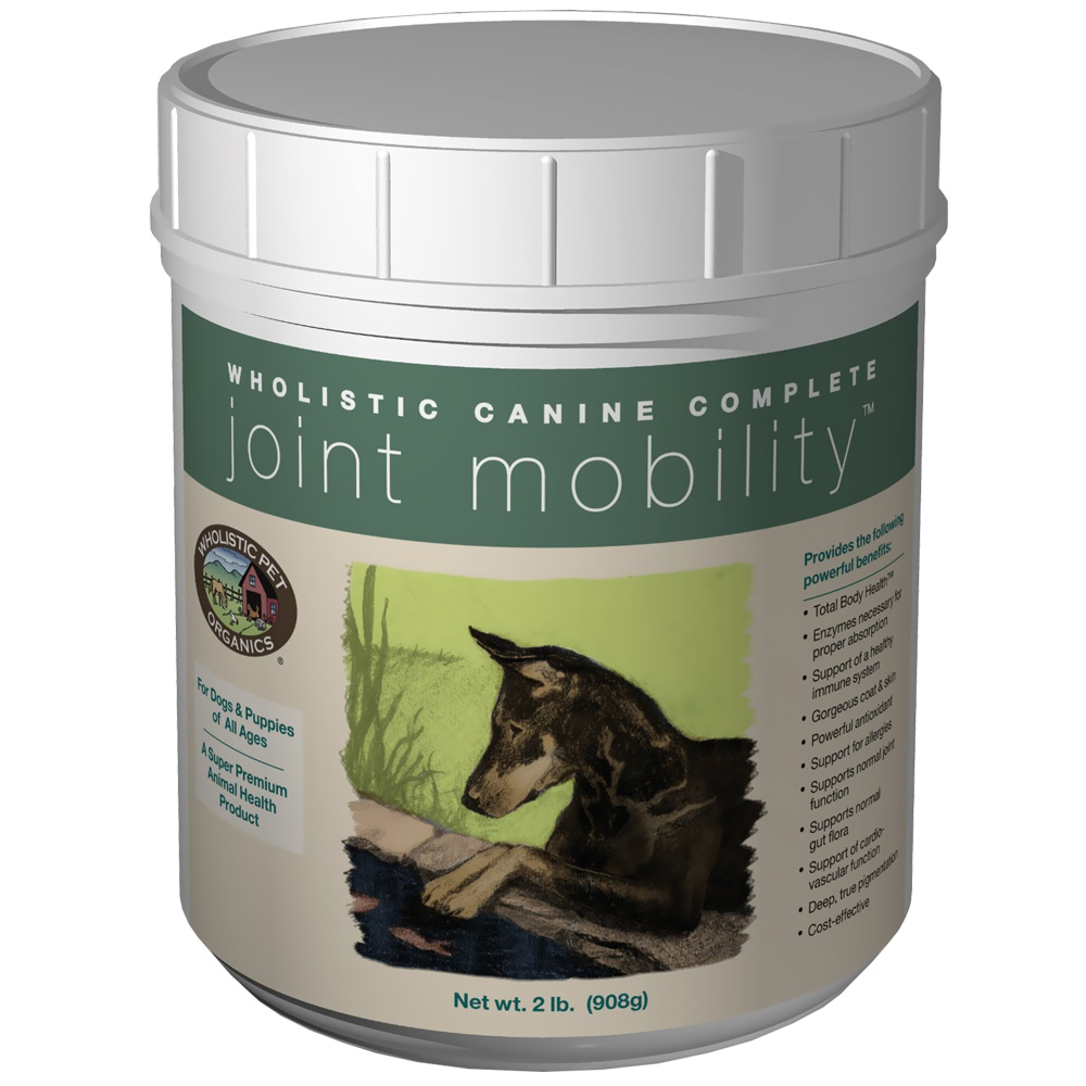 Wholistic Canine Complete Joint Mobility (2 lbs Tub)