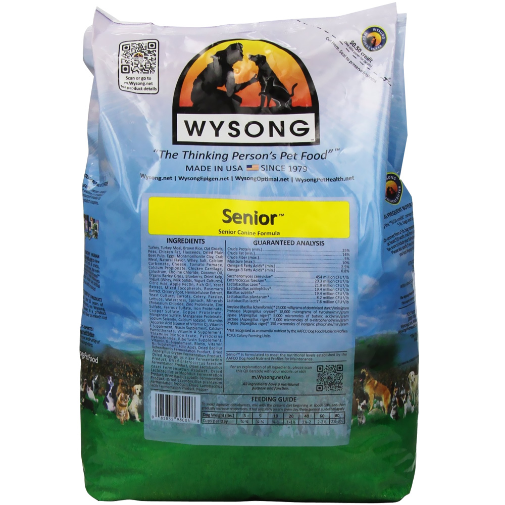 Wysong Senior Natural Dog Food (4 lb)