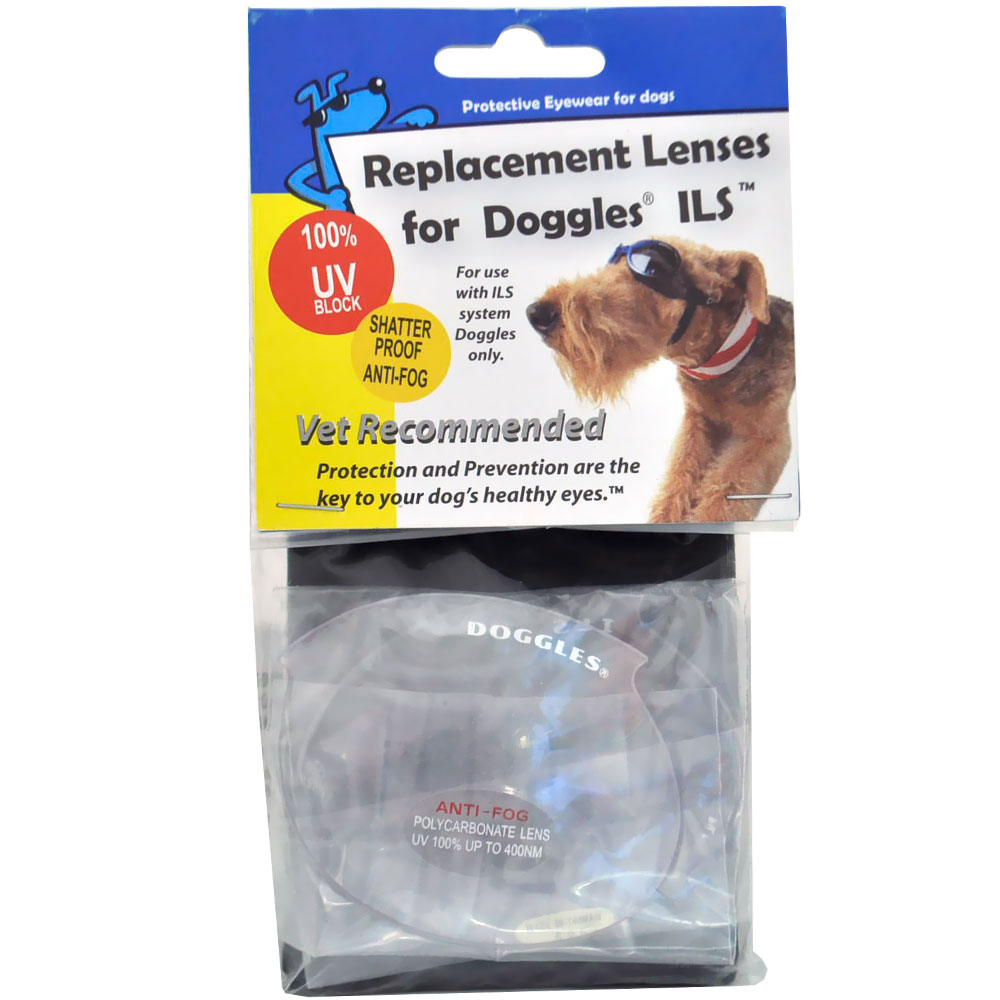 Clear Replacement Lens for ILS Style Doggles