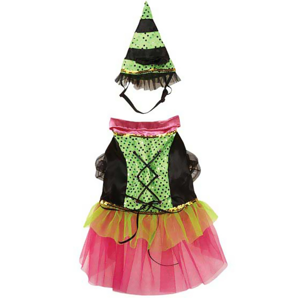 Zack & Zoey Witchy Business Costume Green - LARGE