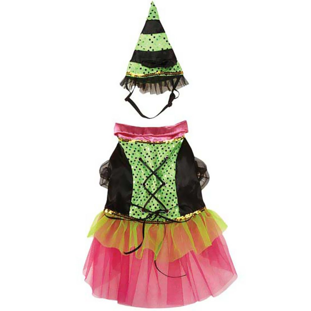 Zack & Zoey Witchy Business Costume Green - MEDIUM