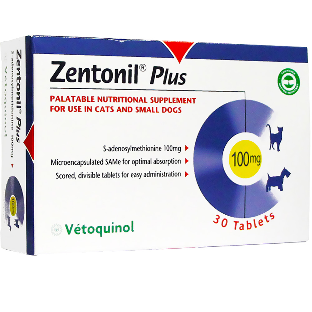 Zentonil Plus for Small Dogs &amp; Cats 100mg (30 tablets)