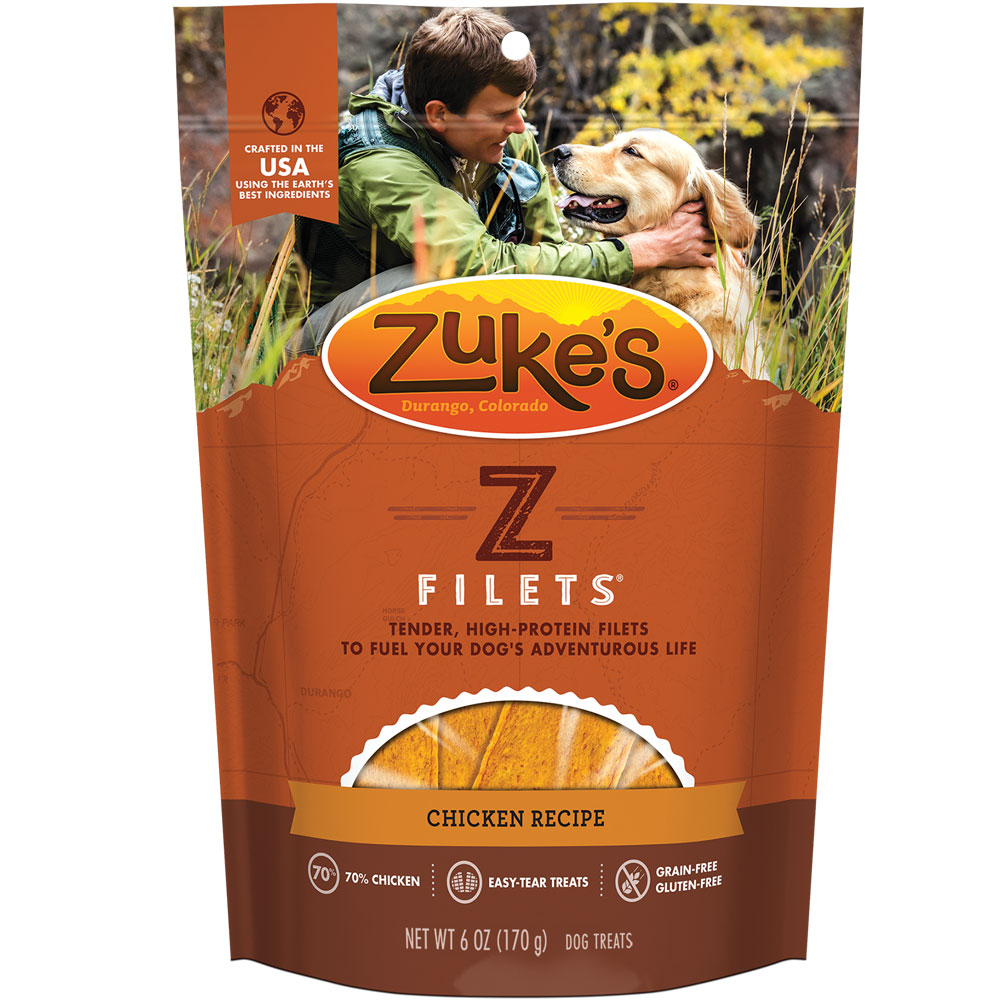 Zuke's Z-Filets Select Slices - CHICKEN (3.25 oz)