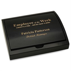 Employee Of The Week Pen and Card Case Gift Set