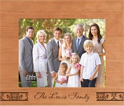 """Family Personalized 8"""" x 10"""" Picture Frame"""
