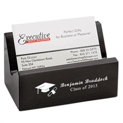 Graduates Desktop Business Card Holder