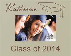 """Graduate's Personalized 4"""" x 6"""" Picture Frame"""