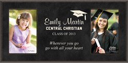 Graduation Personalized Dual Picture Frame