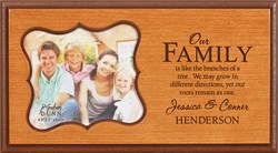 Our Family Personalized Boutique Picture Frame