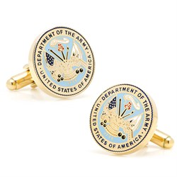 US Army Gold Plated Cufflinks