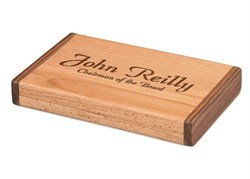 Personalized Two Tone Travel Humidor