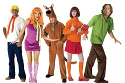 Adult Scooby Doo Group Costume GRPSCOOBY